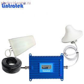 Репитер 4G Lintratek с АРУ и панельной антенной