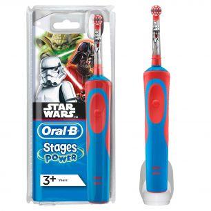Электрическая зубная щетка Oral-B Stages Power Звездные войны D12.513K