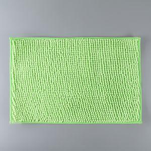 Коврик «Букли», 40?60 см, цвет зелёный