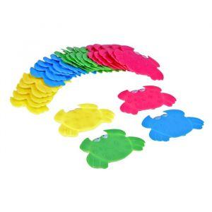 Набор мини-ковриков для ванны «Краб», 9?12 см, 6 шт, цвет МИКС
