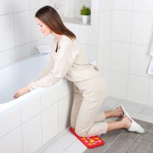 Коврик для коленей «Бабочки» в ванну, размер 39?17,5 см