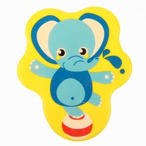 УЦЕНКА Мини-коврик для ванны на присосках «Слоник»