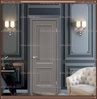 Межкомнатная дверь ALTO 7 Глухое SoftTouch структурный Ясень грей :