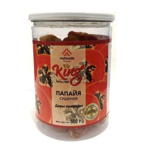 Папайя сушеная натуральная King 500 гр
