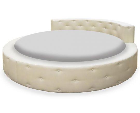 Кровать круглая Элоиза мягкая