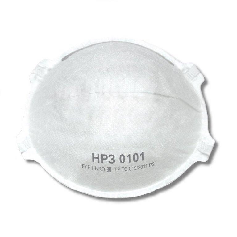 Полумаска фильтрующая (НРЗ 0101) без клапана