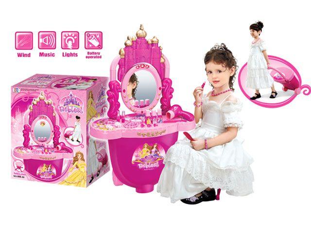 008-30 Детское трюмо туалетный столик  в чемодане