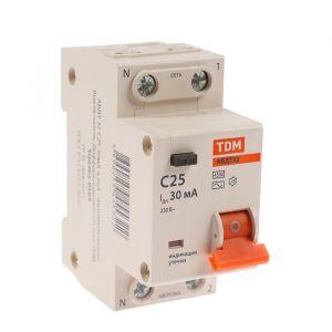 Дифференциальный автомат TDM, АВДТ 32, 2п, 25 А, 30 мА, 4.5 кА 4214449