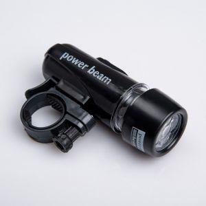 "Фонарик для велосипеда ""Power Beam"", 4 AAA, 5 LED, микс 987105"