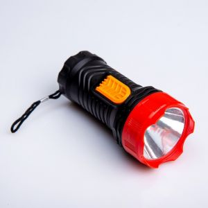 Фонарик ручной, 1 LED, 1 режим, микс, 5х11 см 2996781