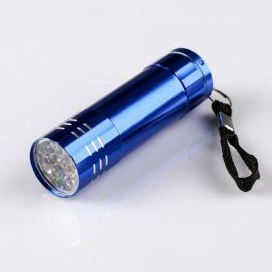 """Фонарик ручной """"Экспедиция"""", 9 LED, шершавый рассеиватель, 3 ААА, микс 440018"""