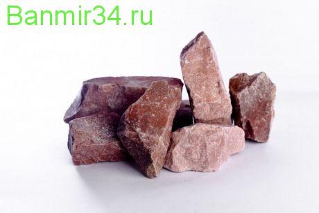 Камень д/сауны Малиновый кварцит Карелия  20кг