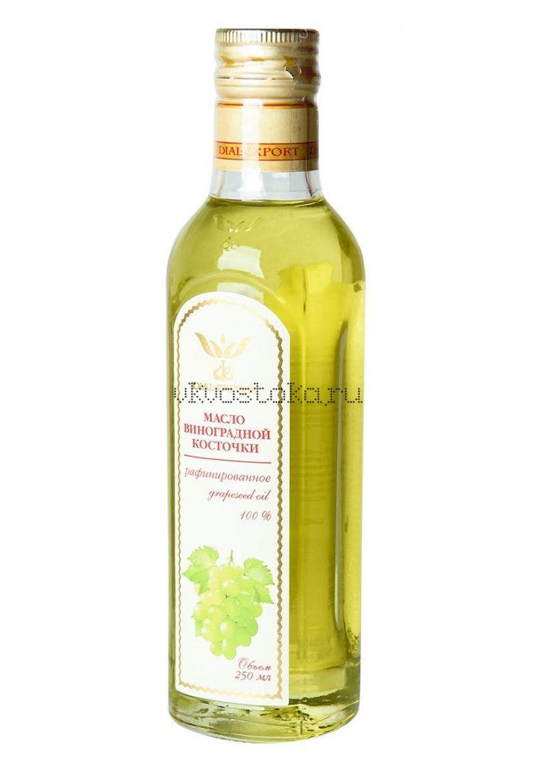 Масло виноградной косточки, рафинированное (стекло)