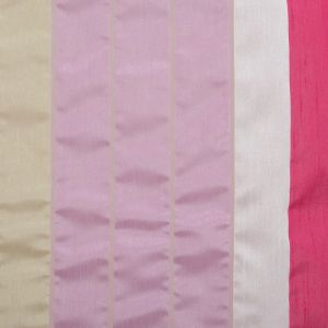 """Тюль """"Этель"""" 140х280 Гамма розовый (вертикальная полоса) б/утяжелителя, 100% п/э"""