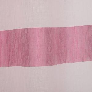 """Тюль """"Этель"""" 145х280 Винный рассвет (горизонтальная полоса) б/утяжелителя, 100% п/э"""
