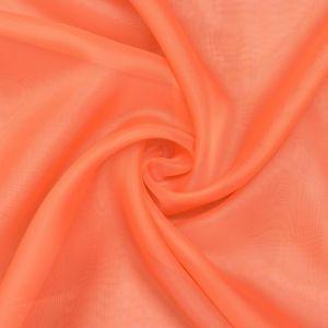 """Тюль """"Этель"""" 145*270 цв. оранжевый, вуаль, 100% п/э   3634300"""