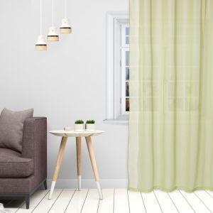 Тюль «Этель» 135?150 см, цвет светло-зеленый, вуаль, 100% п/э