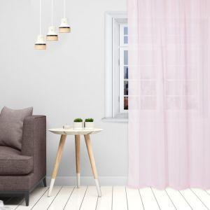 Тюль «Этель» 140?250 см, цвет розовый, вуаль, 100% п/э