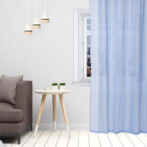 Тюль «Этель» 145?270 см, цвет небесно-голубой, вуаль, 100% п/э