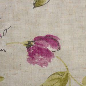 Штора портьерная «Этель» 135?260 см, Акварельные цветы, полулён, 15% лён, 85% п/э