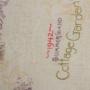"""Штора портьерная """"Этель"""" 290х280, Старинная открытка, полулён, 15% лён, 85% п/э   2483099"""