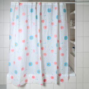 Штора для ванной «Ромашки», 180?180 см, PEVA