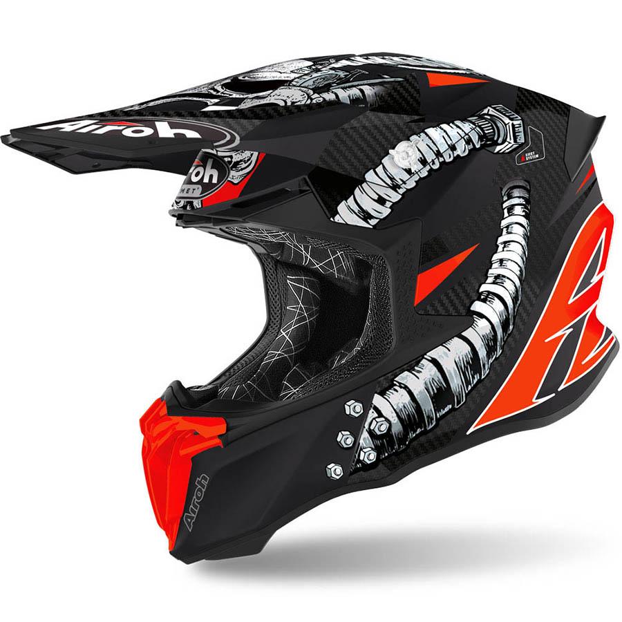 Airoh Twist 2.0 Bolt шлем внедорожный