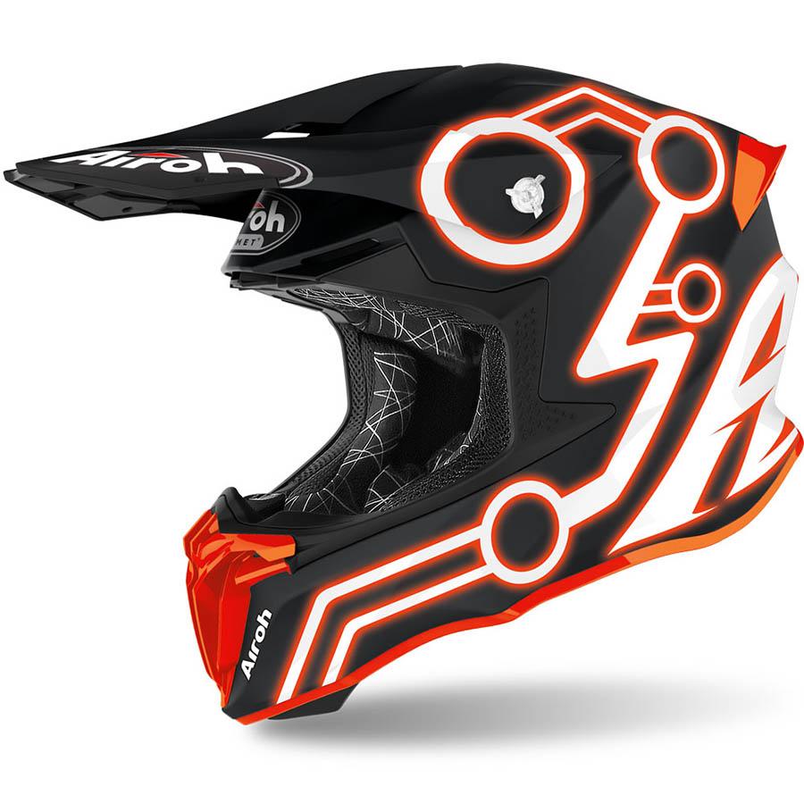 Airoh Twist 2.0 Neon Orange шлем внедорожный