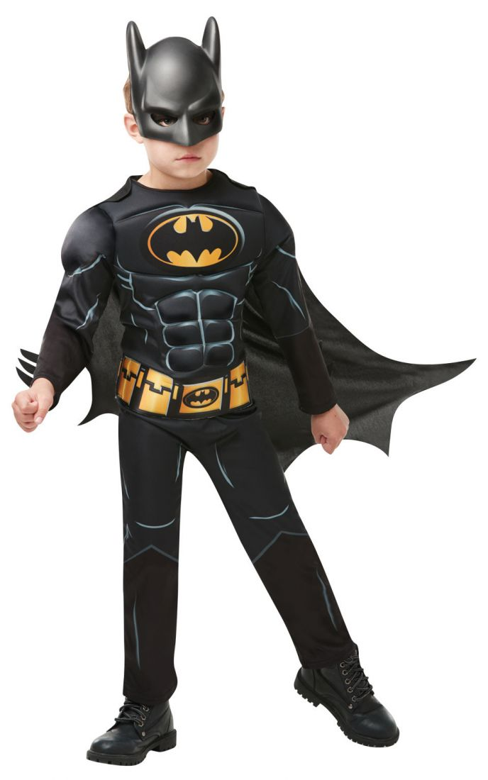 Детский костюм Бэтмена Делюкс