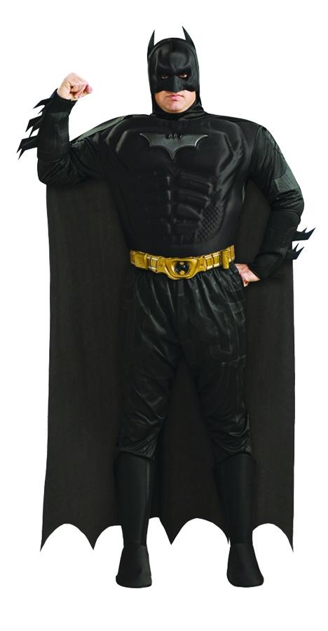 Костюм Черного Бэтмена с мышцами
