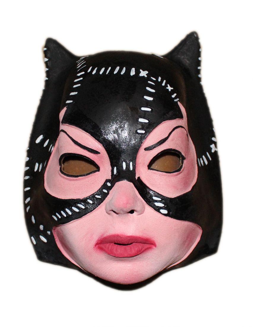 Латексная маска Женщины кошки