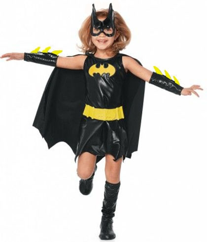 Детский костюм храброй Бэтгел