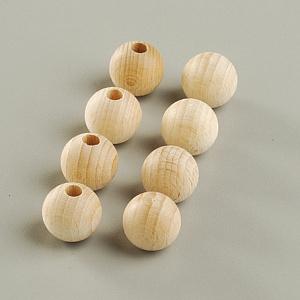 Шар из дерева с отверстием с одной стороны 40 мм. Комплект 2 штуки. EFCO (1401740)