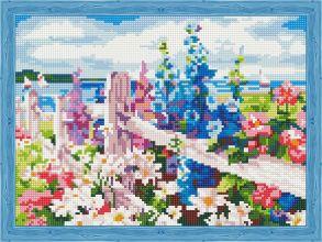 Алмазная мозаика «За околицей» 30x40 см