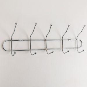Вешалка на 5 двойных крючка
