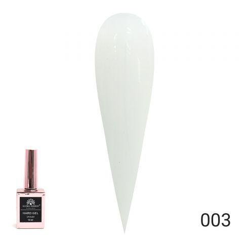 HARD GEL  гель для наращивания и укрепления ногтей 15ml №03 Global Fashion