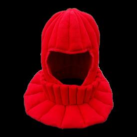 Комплект Набивной Красный Подшлемник + Горжет