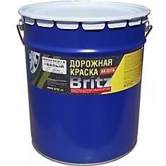 Краска для Дорожной Разметки Britz АК-511 7кг Белая / Бриц