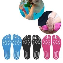 Наклейки на ступни ног Footpad. Цвет Черный Размер S (32-35)