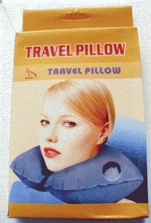 Подушка для путешествий TRAVEL PILLOW (Тревел Пиллоу)