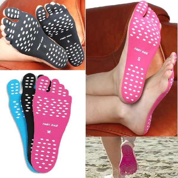 Наклейки на ступни ног Footpad. Цвет Розовый Размер S (32-35)
