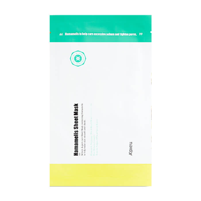 Тканевая маска для лица с гамамелисом A'pieu Hamamelis Sheet Mask