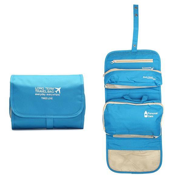 Органайзер для путешествий Long Term Travel Bag. Цвет  Голубой