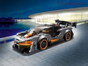 Конструктор Lari Speeds Champion Автомобиль McLaren Senna 11255 (75892) 225 дет
