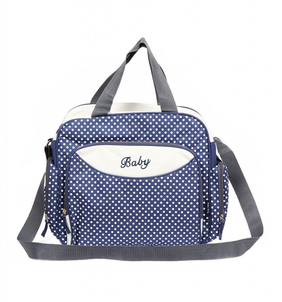 Компактная сумка для мамы Baby, 36х9х26 см. Цвет Синий