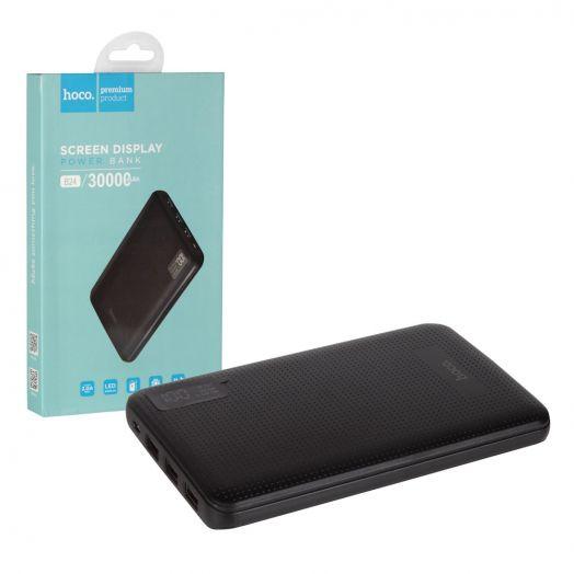 Портативный аккумулятор  Hoco B24 Pawker (30000mAh), черный