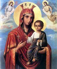 Икона Пресвятой Богородицы Госпожа Ангелов
