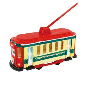 3D-пазл-раскраска «Трамвай»