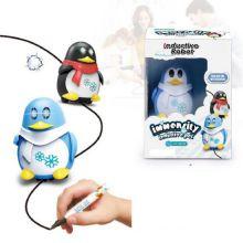 Индуктивная игрушка Пингвин с LED сенсором