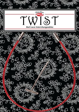 Красные лески для съемных спиц Twist  Small (S)